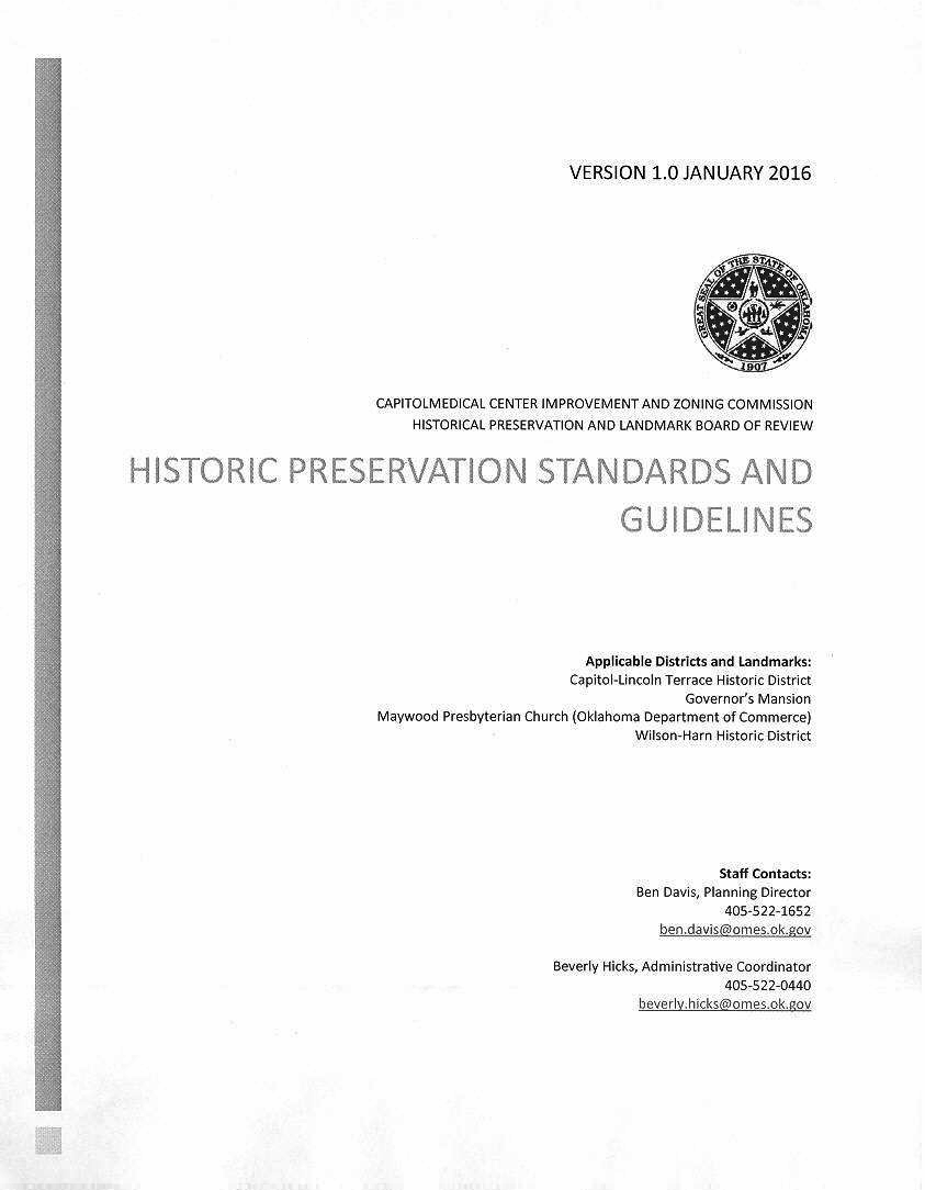 Historic Preservation Standards and Guidelines - Figure 1